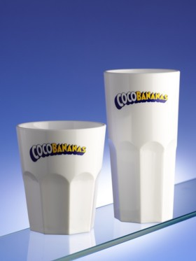 Printed plastic glasses UK
