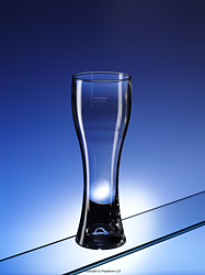 200401: tulip half pint glass