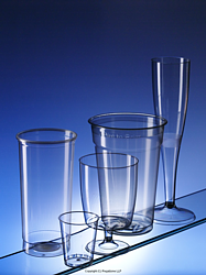 Regalzone's range of popular plastic cups and glasses