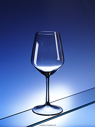 CABERNET: Blow moulded polycarbonate wine glass from Regalzone