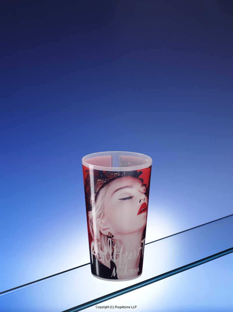 Reusable Plastic Cups with Photo-Realistic Full Wrap